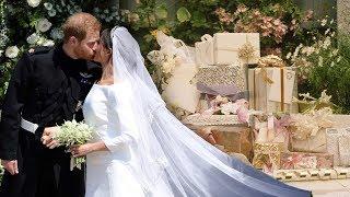 Meghan & Harry SENDING BACK £7million of wedding gifts