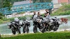 Comparatif gros trails routiers sportifs, Caponord 1200, R1200GS, 1190 Adventure et Multistrada 1200