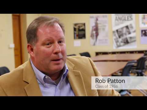 Carolina Fashion: Rob Patton, UNC '86