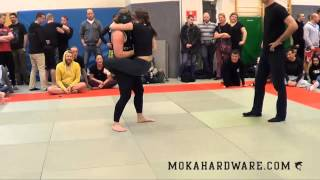 DGL 1 Runde S 2014 Anna Elmose Rumble Sports vs Nathalie Löbl CheckMat/Arte Suave