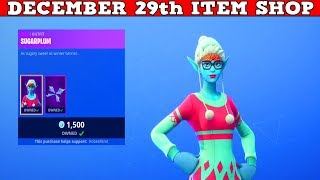 Fortnite Item Shop (December 29th) | This *NEW* Skin Is Awful!