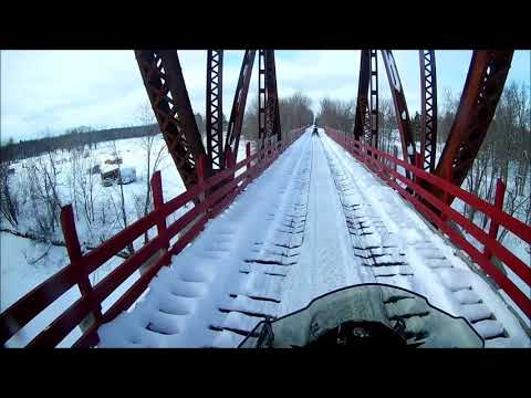 Last Good Snowmobile Ride of 2018 - Aitkin County Minnesota