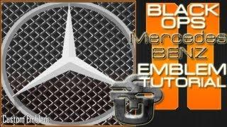 Mercedes-Benz : Call Of Duty Black Ops 2 Emblem Tutorial