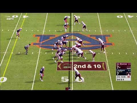 Auburn Football vs Louisiana Monroe Highlights