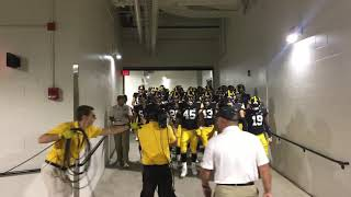 Iowa Football Entrance
