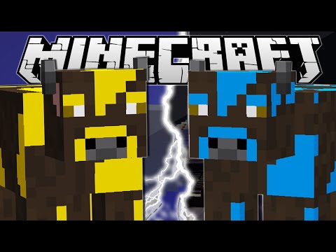 MINECRAFT ULTIMATE COW BATTLE!!