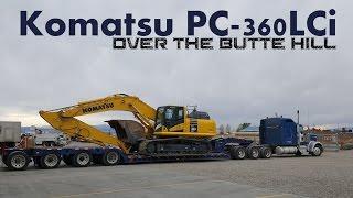 Komatsu PC360LCi   Butte Hill 1