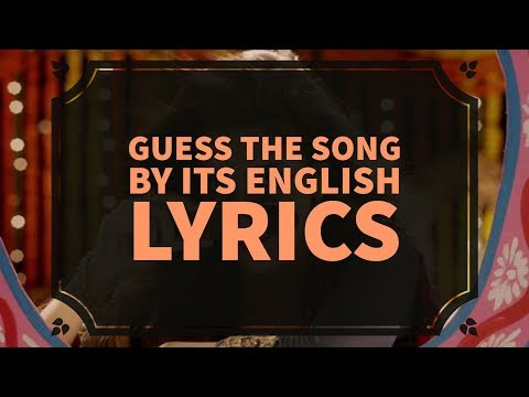 Guess the Song by its English Lyrics | Ready For the Challenge