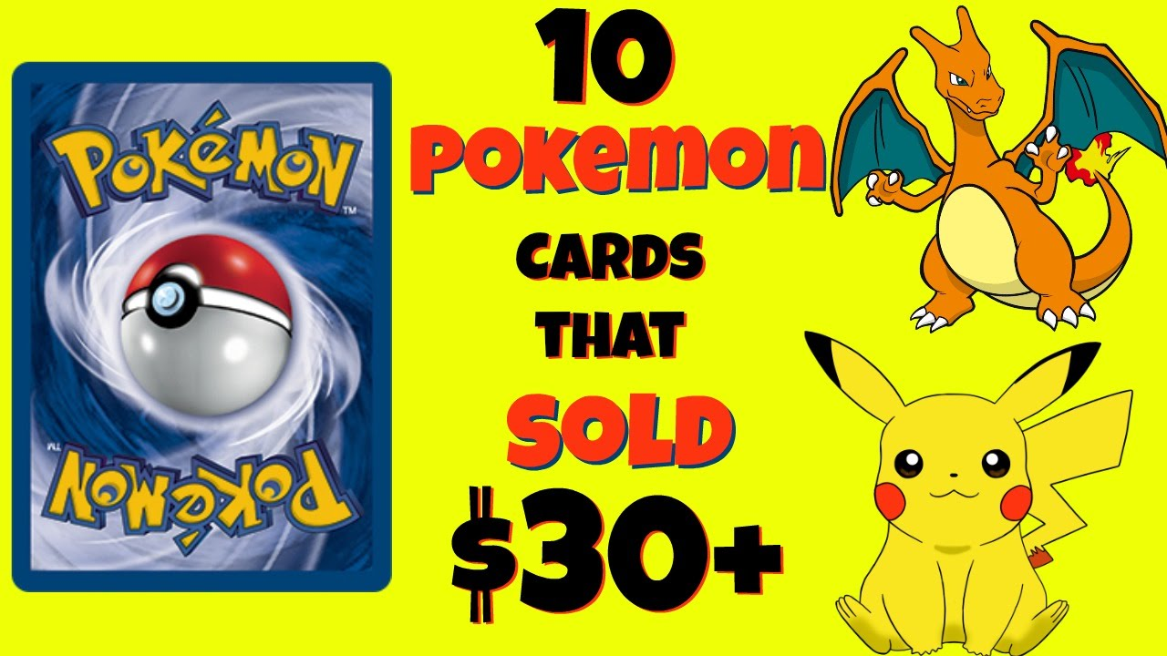 10 pokemon cards that sold for 30 what to look for valuable pokemon cards selling pokemon cards youtube - Where Can I Sell My Pokemon Cards In Person