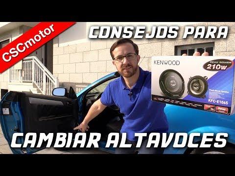 Cambiar los altavoces del coche | CONSEJOS