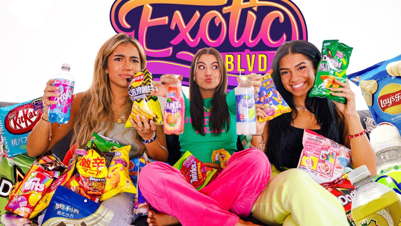 Download Trying Exotic Snacks for the FIRST TIME! **spicy** (ft. MIAN TWINS)