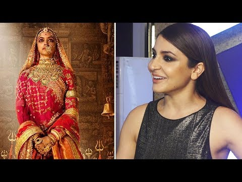 Anushka Sharma COMMENTS on Deepika Padukone's Padmavati LOOK