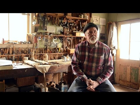 David Ray Pine's Woodworking Workshop Tour