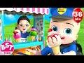Twins Fun Play as Policeman & Doctor + More Nursery Rhymes & Kids Songs – BillionSurpriseToys