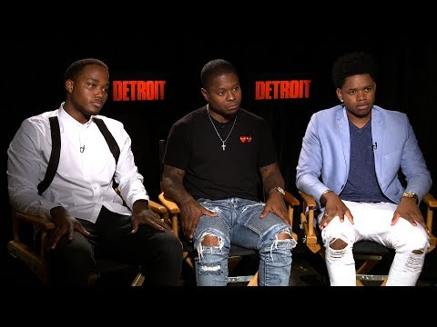 Interview with Leon Thomas III, Jason Mitchell and Nathan Davis Jr. for Detroit