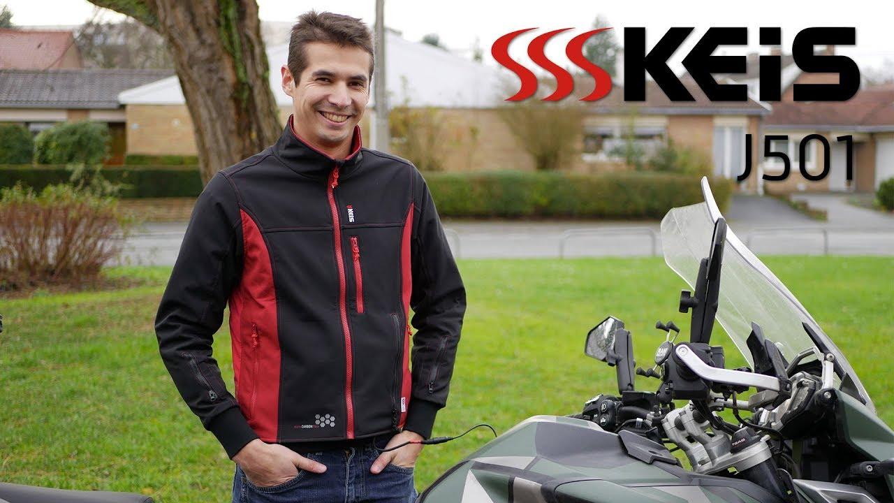 c8f65a632d Test de la veste chauffante Keis J501 : le froid au passé - Motard Adventure