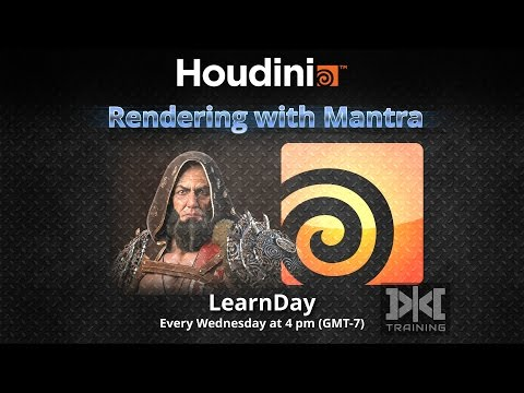 LearnDay - Rendering in Houdini with Mantra