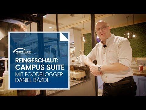 Foodblogger Daniel Bäzol (Gastro LE) besucht Campus Suite im Hauptbahnhof Leipzig