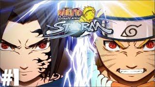 Naruto Ultimate Ninja Storm - Tập 1 - Naruto Luyện Tập Cùng Thầy Kakashi | Big Bang