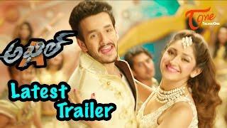 akhil movie latest trailer akhil akkineni sayesha saigal