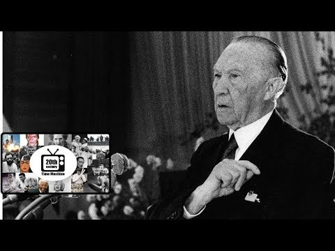 An Interview with Germany's First Post War Chancellor: Konrad Adenauer