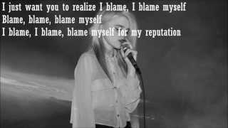 I Blame Myself - Sky Ferreira Karaoke