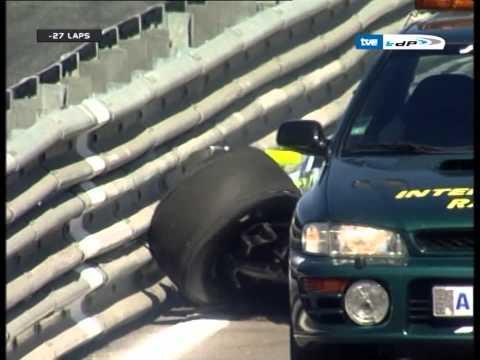 20071020 Ben Hanley World Series by Renault at Estoril Race1 Crash Extended