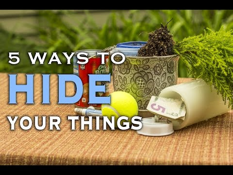 Thumbnail: 5 Ways to Hide Your Things in Plain Sight