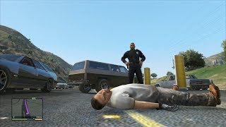 GTA 5 Random and Funny Moments | BMX, Hookers, Cops, and the Best Police Officer