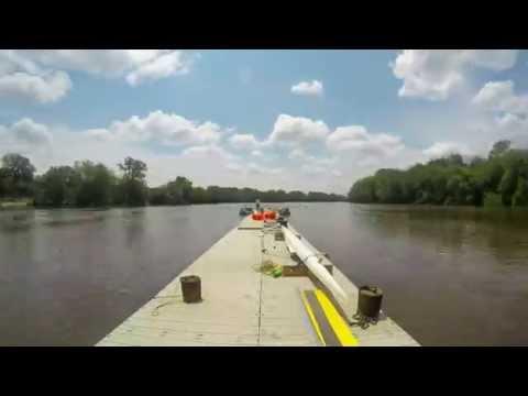 Dock Barge on Grand River