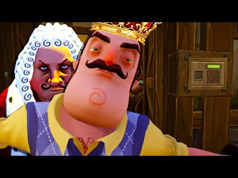 HELLO NEIGHBOR GOES MEDIEVAL AS WE TAKE THE SECRET JEMS 😂- Goodbye My King (Gameplay Funny Moments) thumbnail