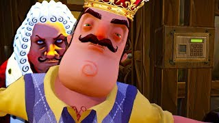 HELLO NEIGHBOR GOES MEDIEVAL AS WE TAKE THE SECRET JEMS 😂- Goodbye My King (Gameplay Funny Moments)