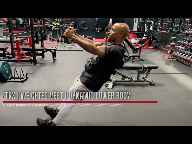 BODY WEIGHT | WEIGHTED VEST | DYNAMIC LOWER BODY WORKOUT