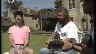 The Bee Gees Sing in Their Garden