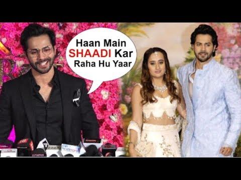 Varun Dhawan Confirms WEDDING With GF Natasha Dalal In 2019 At Lux Gold Awards 2018 Mp3