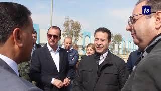 وضع حجر الأساس لمشروع طاقة شمسية لمدينة الأمير محمد للشباب في الزرقاء - (14-2-2019)