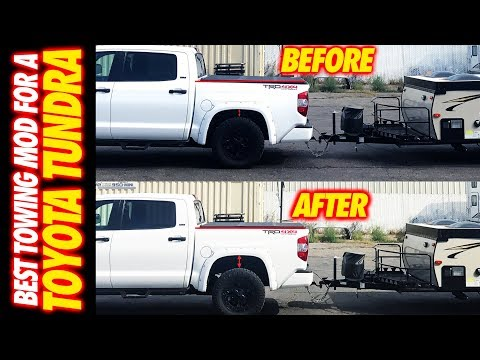 Best Truck Mod Every Truck Owner Should Have !!! 2015 Toyota Tundra Drift Tow Rig