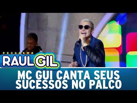 Programa Raul Gil (18/06/16) - MC Gui canta seus sucessos no palco