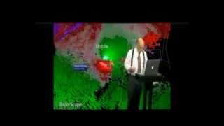 12-25-12 Mobile Tornado Coverage from WALA & WBMA