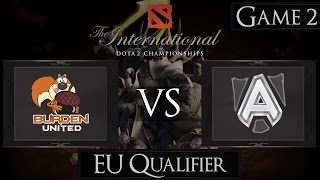 Dota 2 The International 2015 Burden United vs Alliance