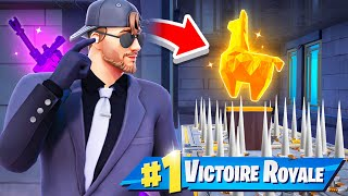 Je DEVIENS un AGENT SECRET sur FORTNITE