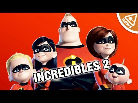 Decoding the First Look at Incredibles 2! (Nerdist News w/ Dan Casey)