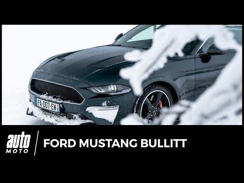 Essai Ford Mustang Bullitt : road-trip sous la neige des Vosges