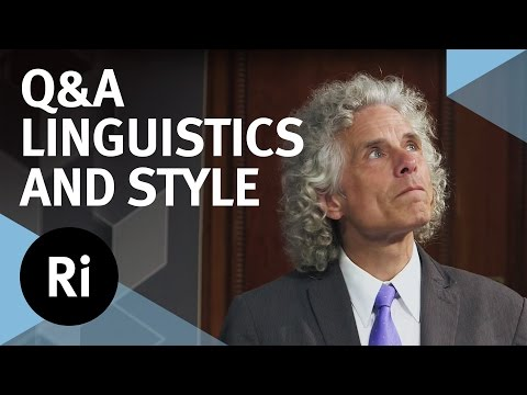 Q&A - Linguistics, Style and Writing - with Steven Pinker