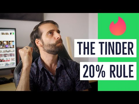 Don't Hate The Tinder 20% Rule from YouTube · Duration:  15 minutes 2 seconds