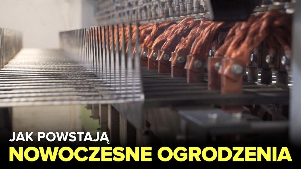 Jak powstają NOWOCZESNE OGRODZENIA? Fabryki w Polsce