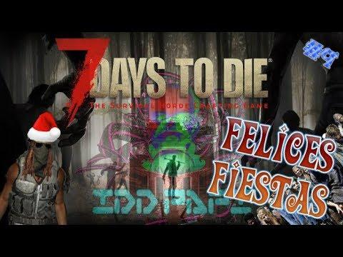 7 DAYS TO DIE : ALPHA 16 WARRIOR - #9 ASEDIO DE SCREAMERS Y ELECTRICIDAD  (GAMEPLAY ESPAÑOL)