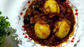 Kerala Egg Roast lll Mutta Roast Recipe lll Spicy Egg Roast Recipe lll