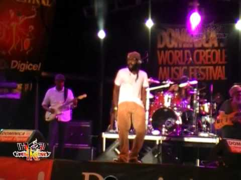 DOMINICA'S WORLD CREOLE MUSIC FESTIVAL 2012 @ DOMINICA - TARRUS RILEY (PART.4)