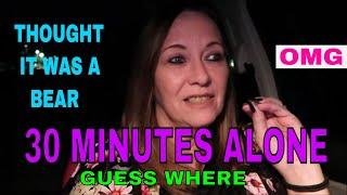 30 MINUTES ALONE AT THE SHADOW CEMETERY